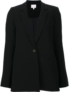 deep neck boxy blazer Cinq A Sept