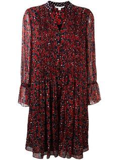 плиссированное платье с принтом 'Dots' Diane Von Furstenberg