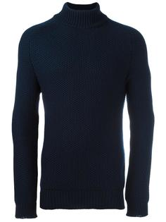 'Cotswold' roll neck jumper Natural Selection