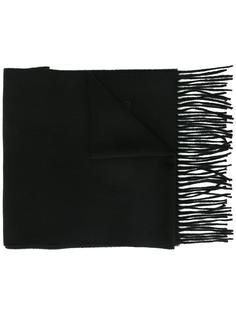 шарф с бахромой Moschino