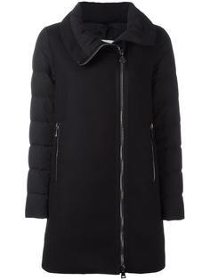 короткое пальто-пуховик на молнии Moncler