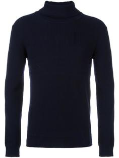 ribbed turtleneck jumper Paolo Pecora