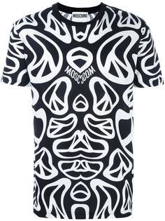 футболка с принтом пацифика Moschino