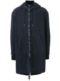 длинная джинсовая куртка Juun.J