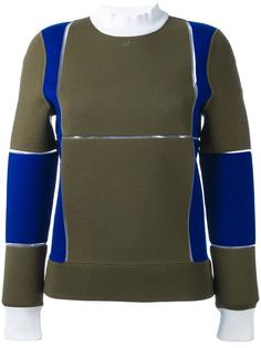 свитер дизайна колор-блок Courrèges