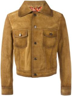 buttoned jacket Palm Angels