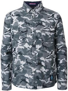 camouflage padded shirt jacket Guild Prime