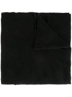 raw edge scarf Poème Bohémien