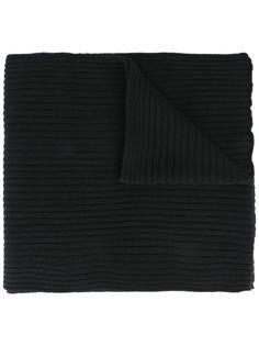 шарф в рубчик Moschino