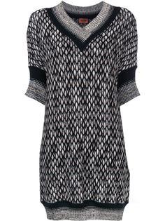 платье-свитер с V-образным вырезом Missoni