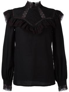 ruffled lace detailing blouse Vilshenko