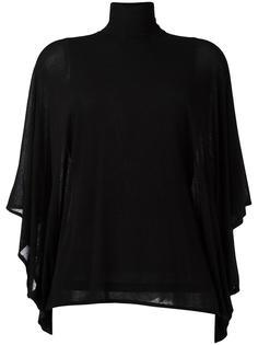 блузка с высокой горловиной Plein Sud