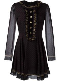 polka dot flared dress Philosophy Di Lorenzo Serafini