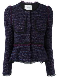 buttoned tweed jacket Erdem