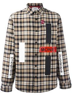 рубашка в клетку с нашивками Sold Out Frvr
