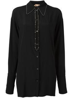 декорированная рубашка Nº21