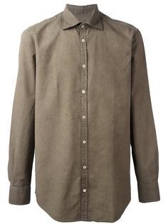 фактурная рубашка  Massimo Alba