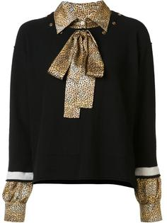 jumper with shirt underlay Sonia Rykiel