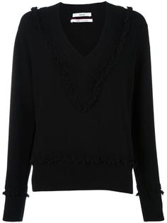 'Romantic' V-neck jumper Barrie