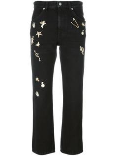 прямые джинсы 'Obsession' Alexander McQueen