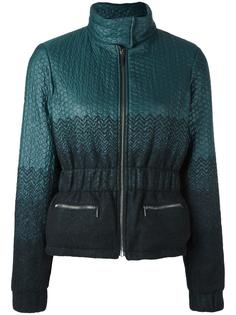 куртка с градиентным эффектом Emanuel Ungaro