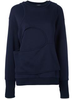 свитер с широким карманом Mashama