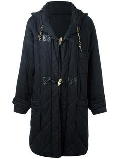 quilted duffle coat Chanel Vintage