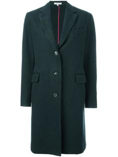 flap pockets mid coat Boglioli