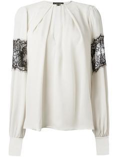 блузка с кружевными вставками Plein Sud