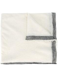 striped detailing scarf Faliero Sarti