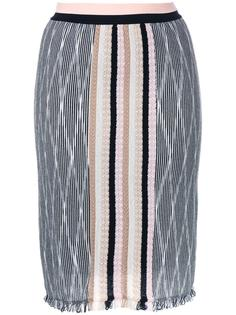 юбка с бахромой Missoni