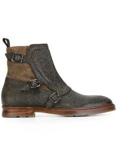 ботинки с ремешками  Alexander McQueen