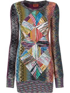 платье-свитер с узором Missoni