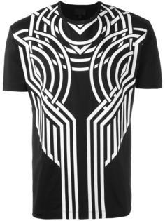 geometric print T-shirt Les Hommes