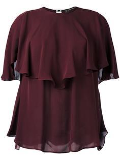 многослойная блузка с оборками Plein Sud