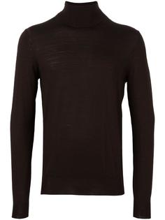 turtleneck fine knit jumper Paolo Pecora