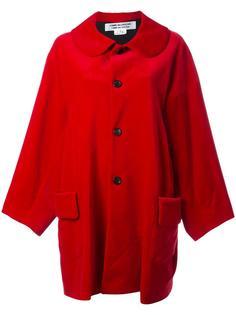 buttoned mid coat Comme Des Garçons Comme Des Garçons