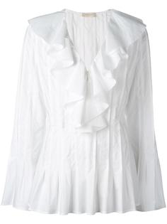 pleated flared blouse Wunderkind