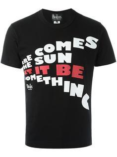 'here comes' print T-shirt Comme Des Garçons