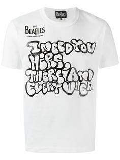 'I need' print T-shirt Comme Des Garçons
