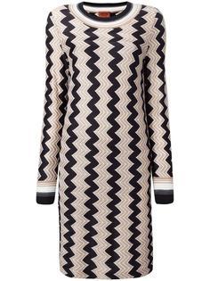 платье с зигзагообразным узором Missoni