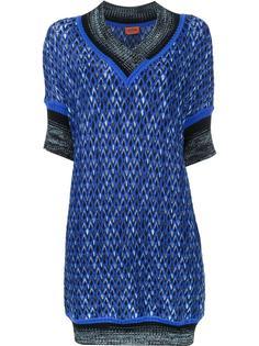 платье с V-образным вырезом Missoni