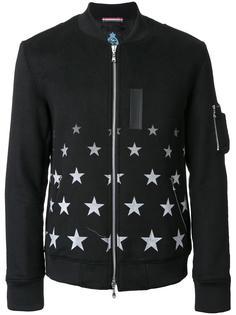 star print bomber jacket Guild Prime