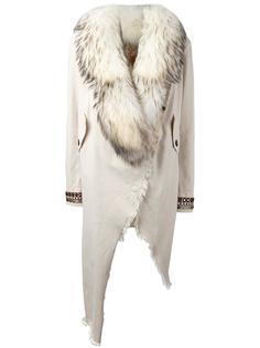пальто с декорированными манжетами Bazar Deluxe