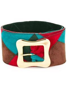 wide patchwork belt Yves Saint Laurent Vintage