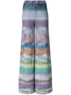 трикотажные брюки палаццо Missoni