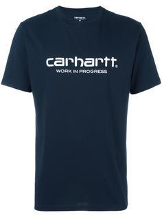 logo print T-shirt Carhartt