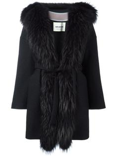 fur trim coat  Ava Adore