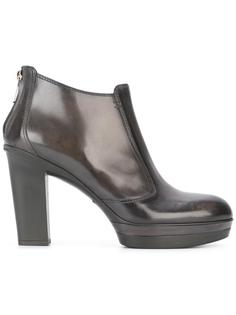 rear zip ankle boots Santoni
