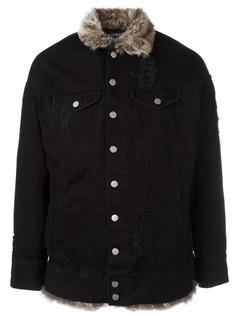 джинсовая куртка с мехом Misbhv